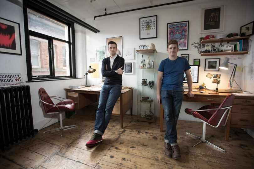 Chris and Rob – the duo behind the project