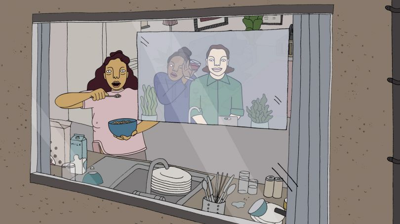 How Have You Been? by Polly Nor and Andy Baker Studios, commissioned by WePresent