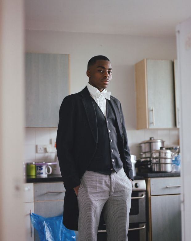"""Kennington's Eton scholar, London © Tristan Bejawn. """"Sharp, well spoken and easy-going, Joshua attended a state school before earning a place at Eton College on a full scholarship. He has since been offered a place at the University of Cambridge."""""""