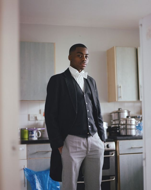 "Kennington's Eton scholar, London © Tristan Bejawn. ""Sharp, well spoken and easy-going, Joshua attended a state school before earning a place at Eton College on a full scholarship. He has since been offered a place at the University of Cambridge."""
