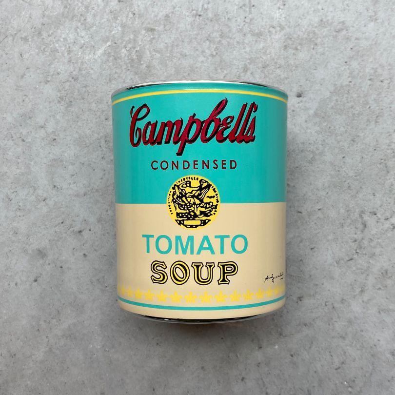 Andy Warhol Campbells Candle, via Hen's Teeth