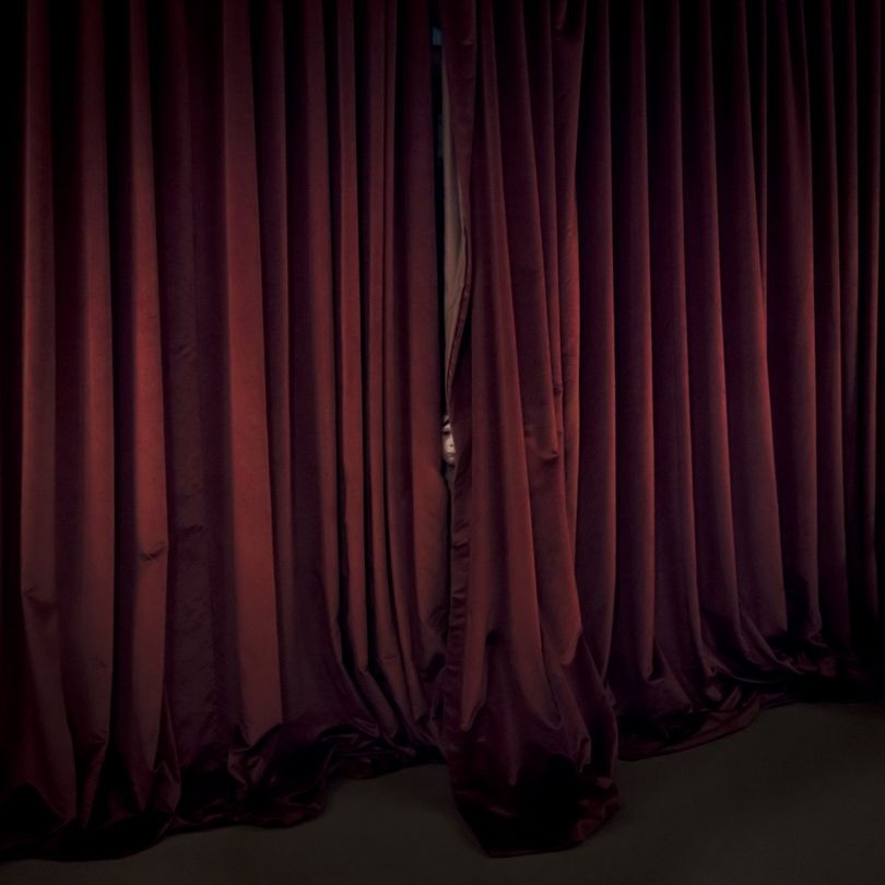 Red curtains, location, Maine 2017 © Cig Harvey courtesy Beetles + Huxley Gallery