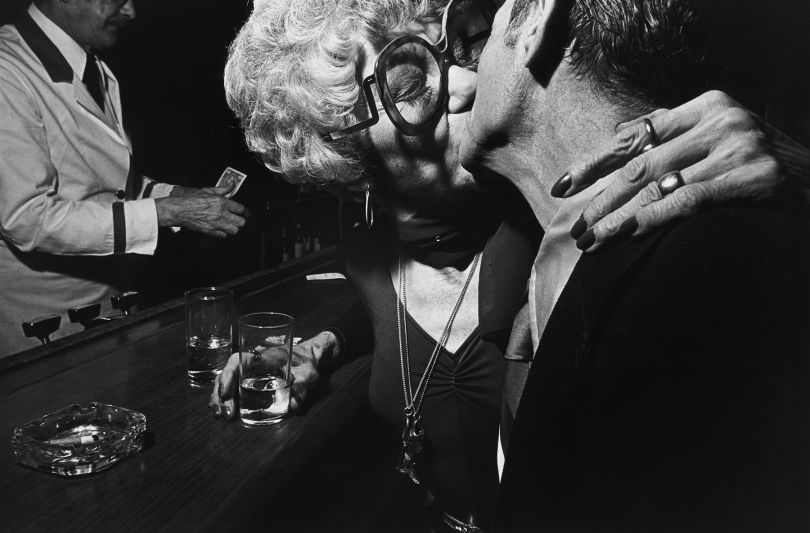 Older Couple in a Bar, New York City © Leon Levinstein. Courtesy of Howard Greenberg Gallery