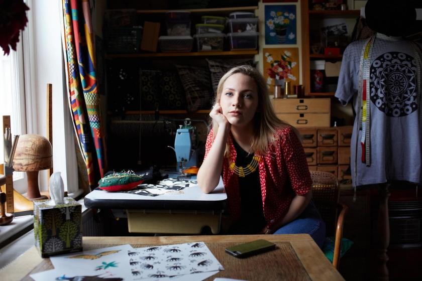 Minnie-Mae Stott - textile designer