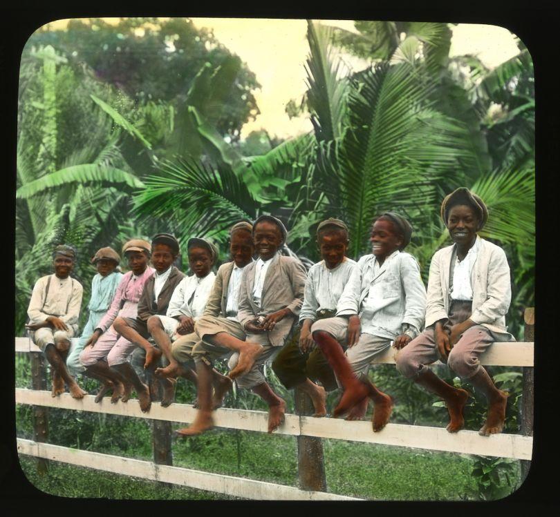 Jamaica Boys. Brown & Dawson, c. 1890.  Courtesy Caribbean Photo Archive / Autograph ABP