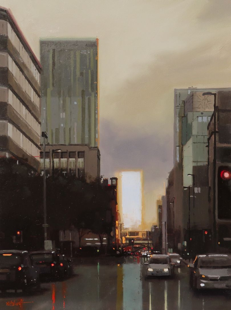 After Glow, Deansgate Manchester © Michael Ashcroft