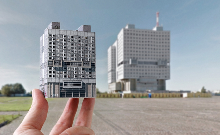 Brutal East: Illustrated paper models that celebrate post-war architecture of Eastern Europe