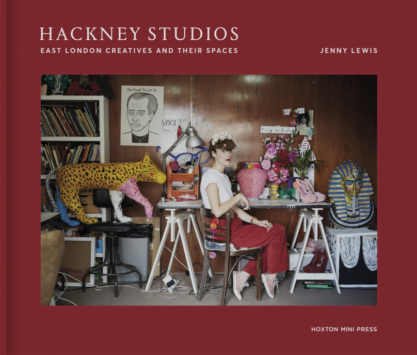 Hackney Studios cover, photograph shows Rosy Nicholas, props and accessories designer