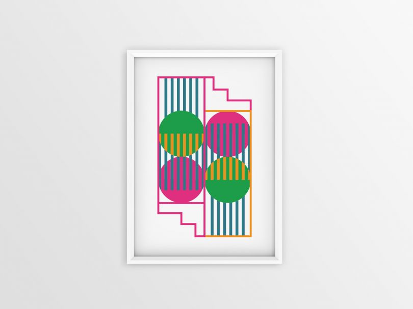 A bespoke poster design