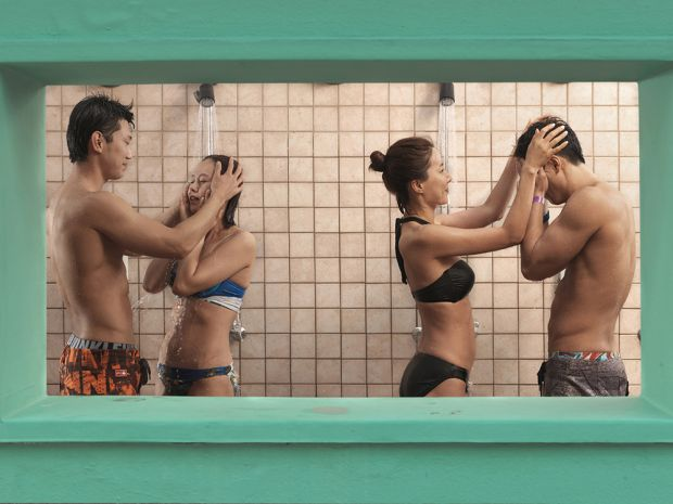 Couples in Shower by Julia Fullerton-Batten, United Kingdom, Shortlist, Lifestyle, Professional Competition, 2015 Sony World Photography Awards