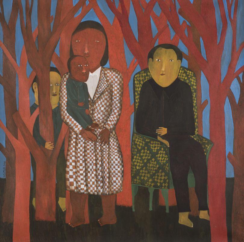 Salah Elmur, The Red Forest (2016)