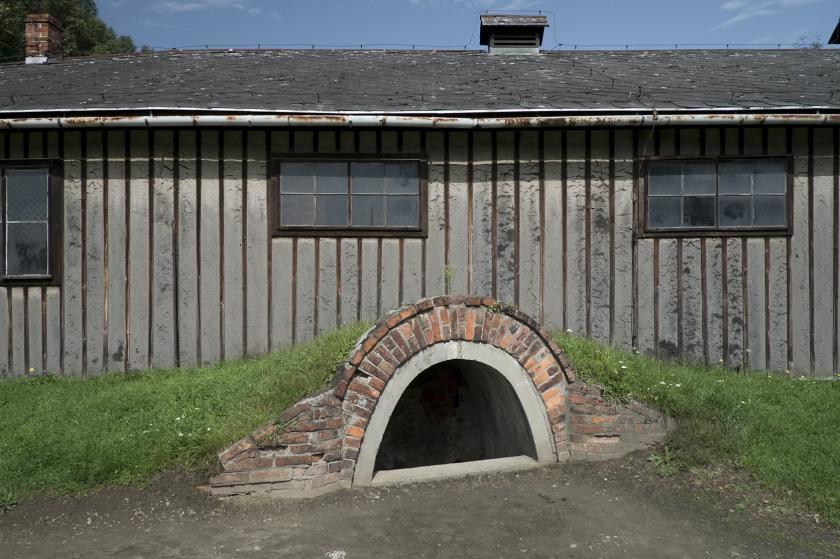 'Arbeit macht frei' Gates, Auschwitz, Oświęcim, Poland