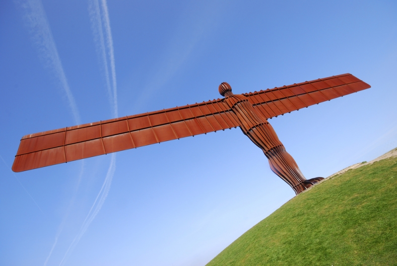 The Angel of the North. Image credit: [Shutterstock.com](http://www.shutterstock.com/)