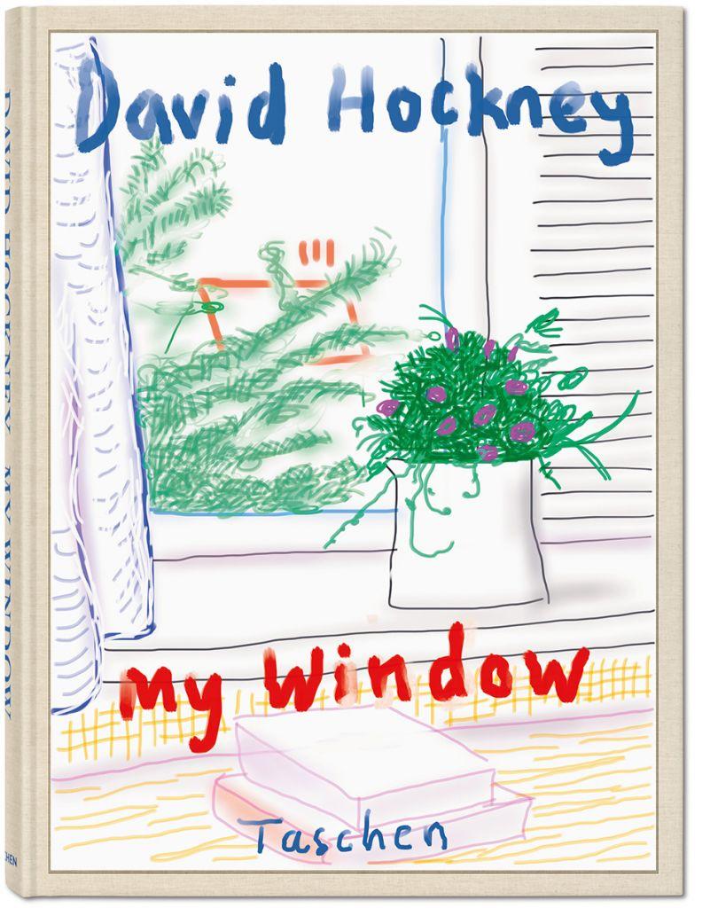 David Hockney. My Window  Hans Werner Holzwarth, TASCHEN, priced at £1,750