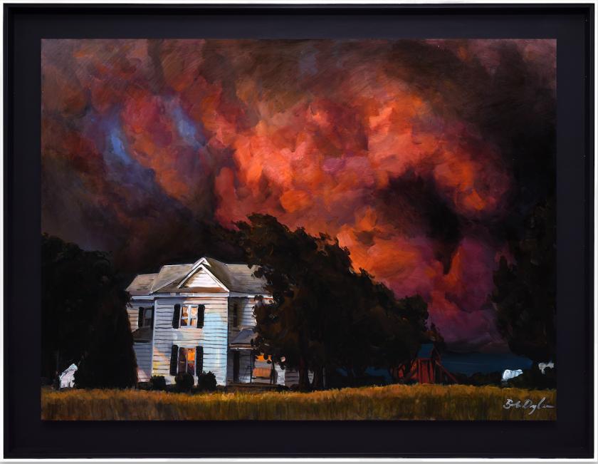 Bob Dylan, Red Sky House II, 2020