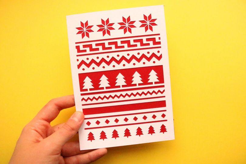 Christmas Jumper Cards by Eliott Bulpett