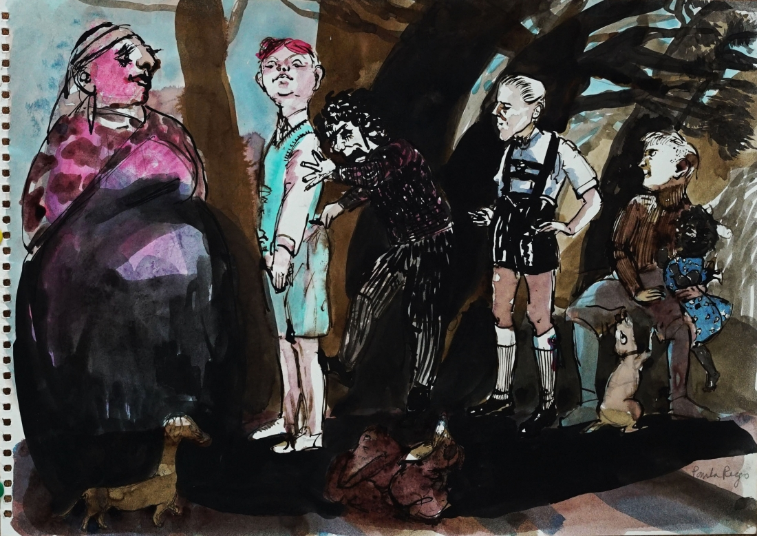 Paula Rego, Dona Redonda, 2005, Private Collection © Paula Rego, courtesy Marlborough Fine Art