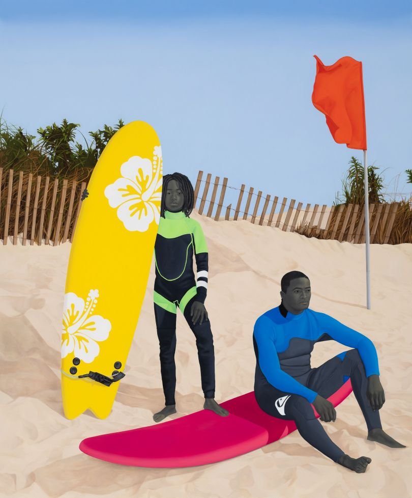 An Ocean Away – Amy Sherald © Amy Sherald Courtesy the artist and Hauser & Wirth Photo: Joseph Hyde
