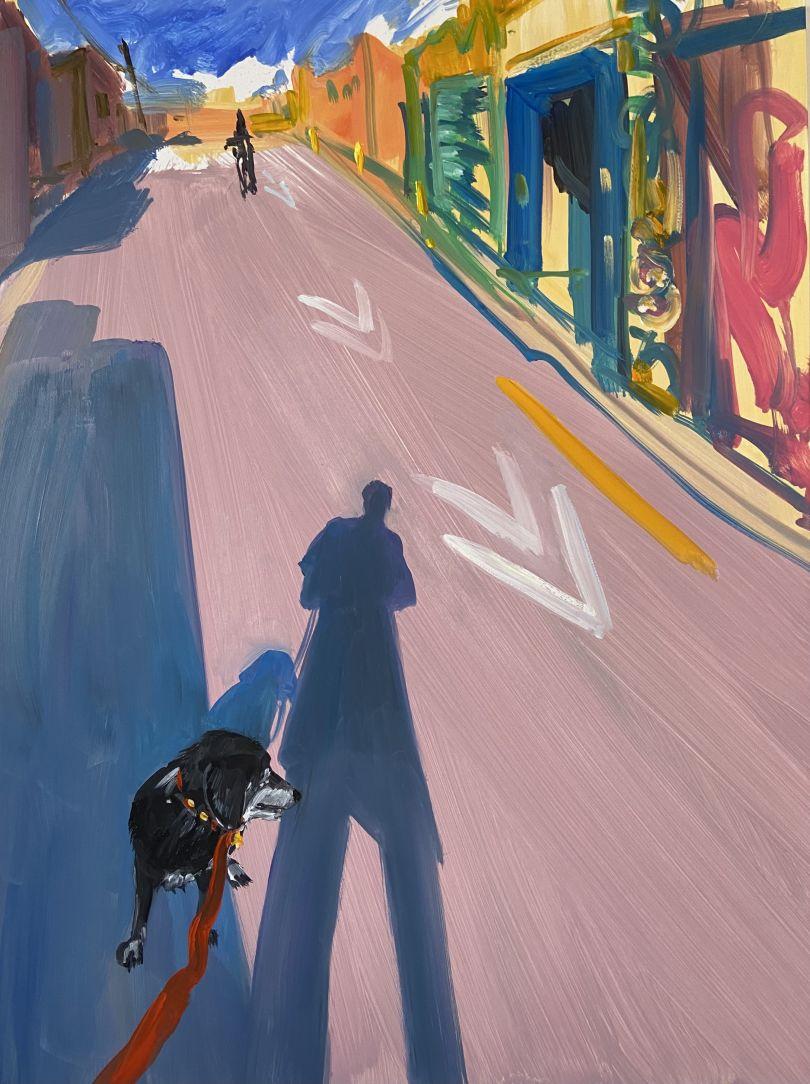 Bike, 2021 © Deborah Brown. Courtesy of Anna Zorina Gallery