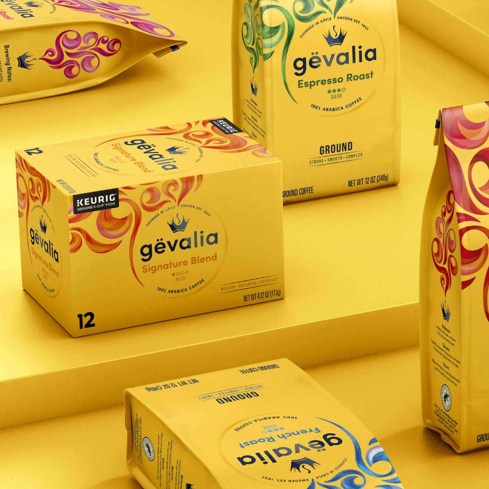 BrandOpus goes Scandi for 'coffee giant' Gevalia rebrand