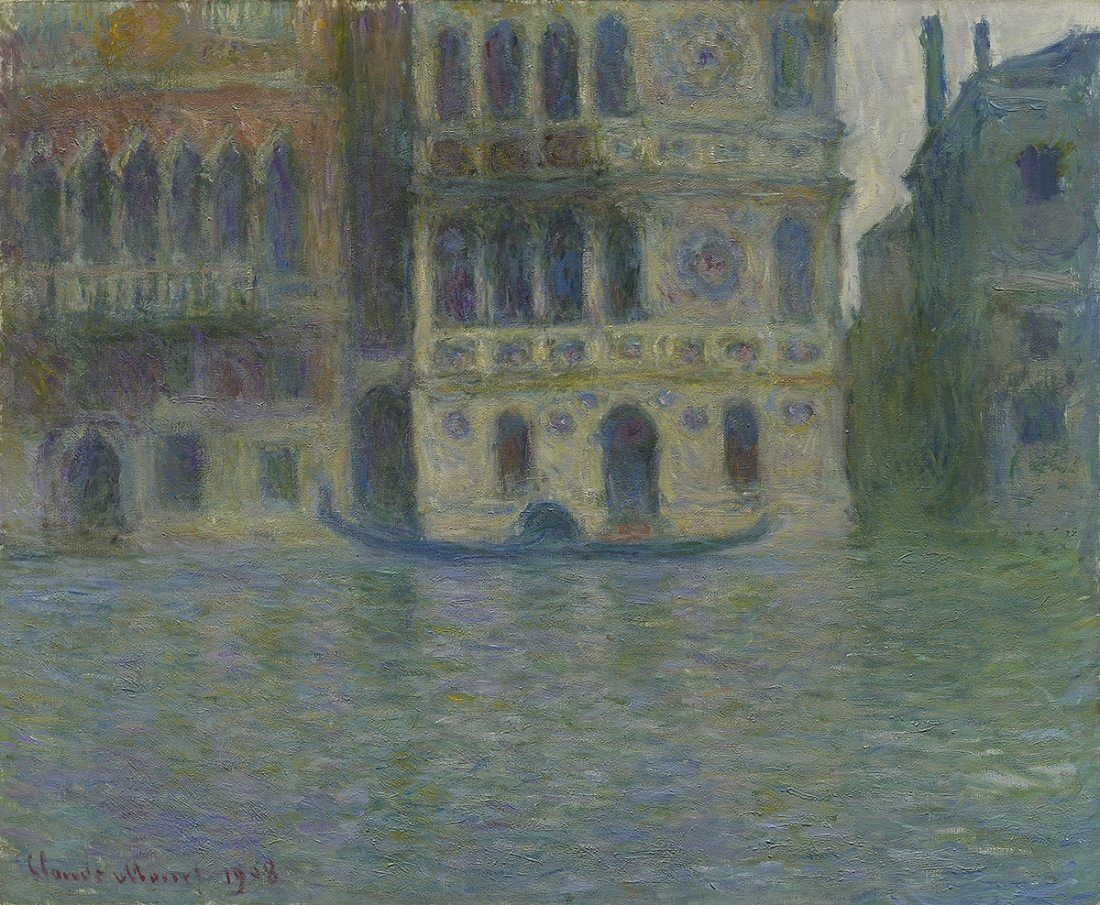 Claude Monet The Palazzo Dario, Venice (Venise, Le Palais Dario), 1908 Oil on canvas 66 × 81 cm The Art Institute of Chicago Mr. and Mrs. Lewis Larned Coburn Memorial Collection 1933.446 © The Art Institute of Chicago / Bridgeman Images