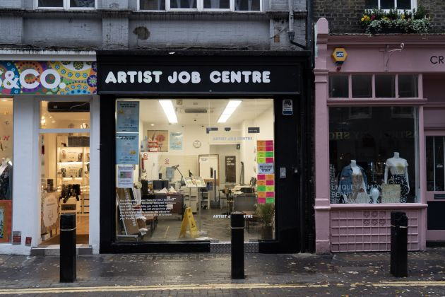 Stuart Semple, Artist Job Centre. Photo: Jamie James
