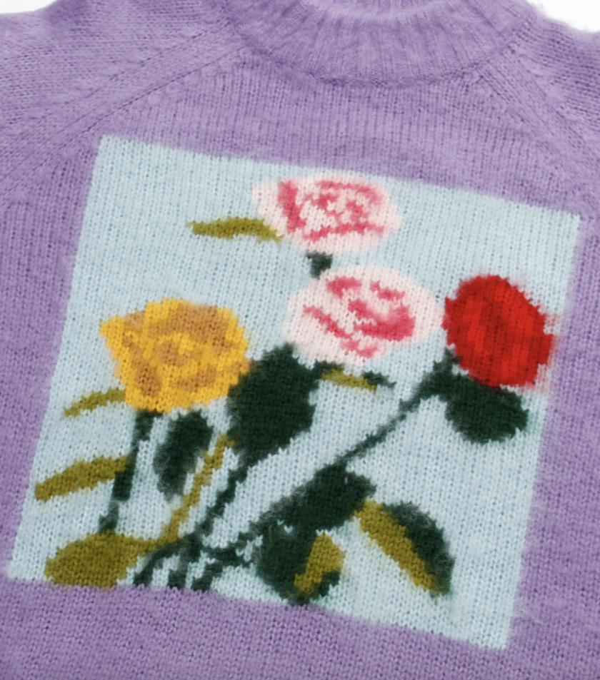 Knitwear design for Little Sunny Bite Japan