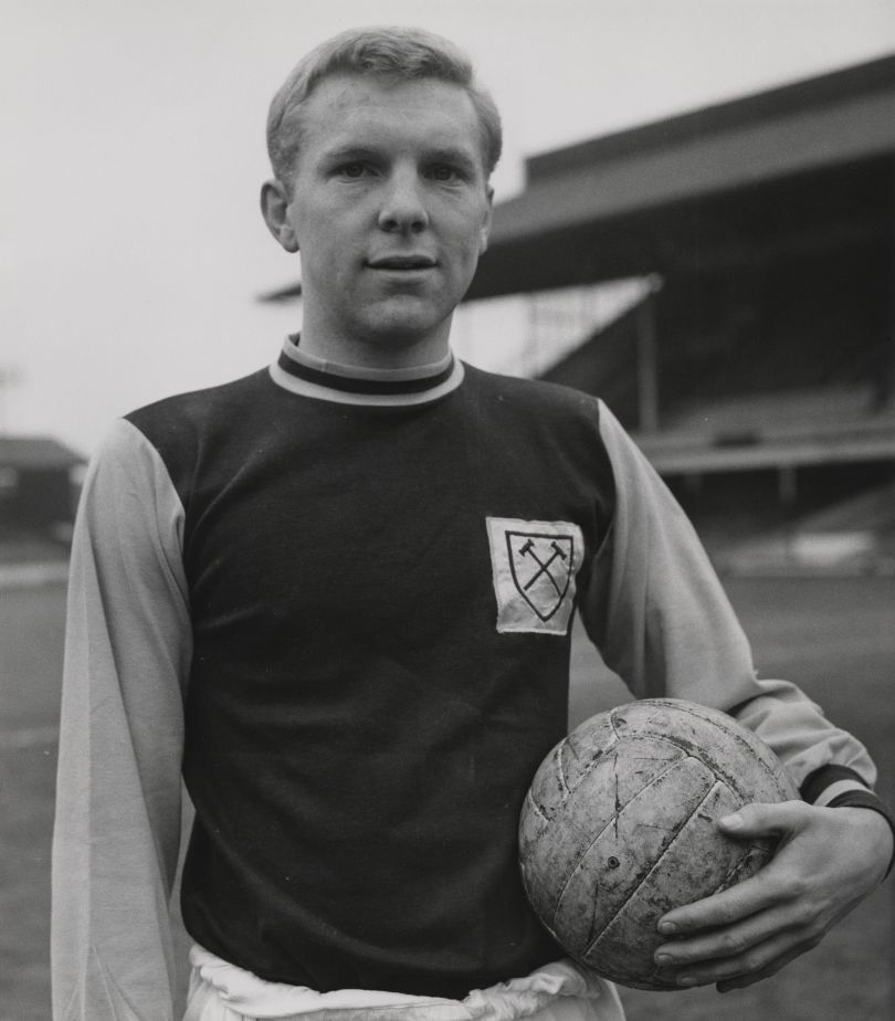 Bobby Moore by an unknown photographer, 1962 © reserved; National Portrait Gallery, London