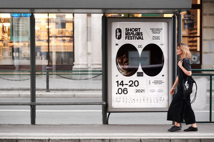 Poland-based studio Uniforma designs a human-centric identity for Short Waves Festival 2021