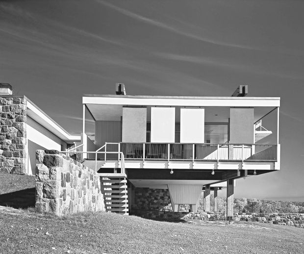 Marcel Breuer: Starkey House, Duluth, Minnesota, USA, 1955. Picture credit: © Ezra Stoller/ Esto