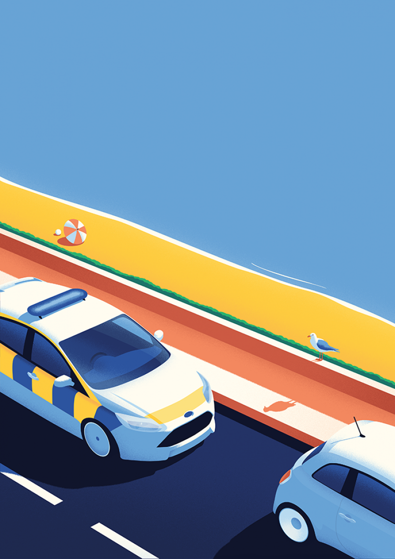 Road Safety Scotland: Series of posters commissioned by Leith agency for the Scottish government.