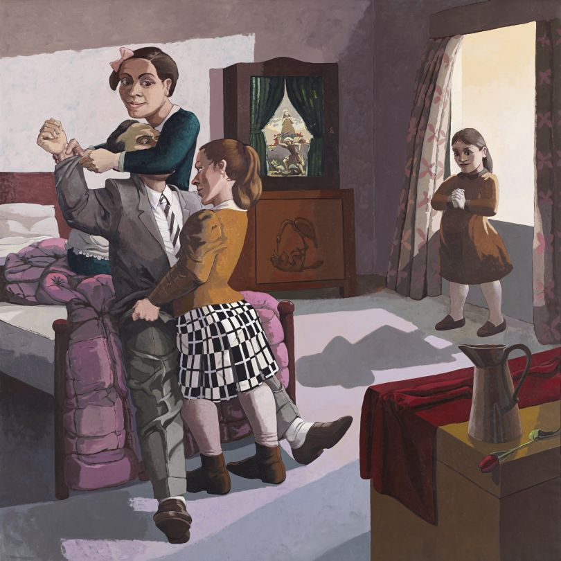Paula Rego (b.1935) The Family 1988 Acrylic paint on canvas backed paper, 2134 x 2134 mm Marlborough International Fine Art © Paula Rego