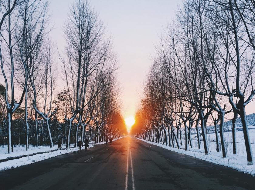 Sunset in Hamhung