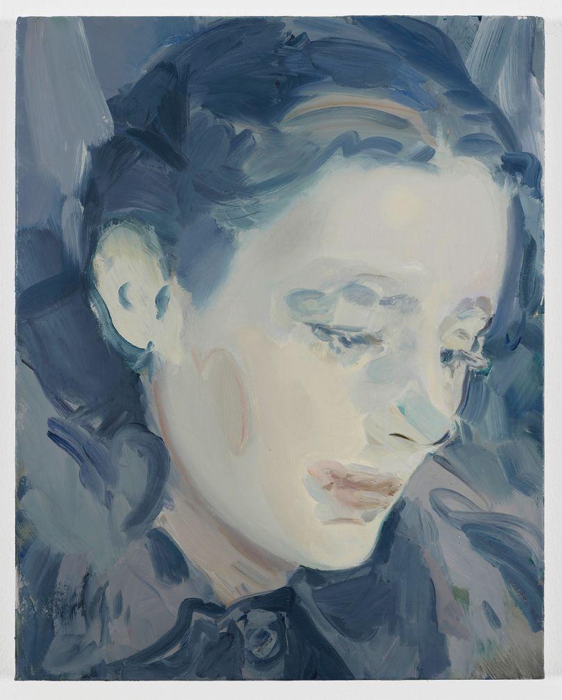 Kaye Donachie Young moon, 2018 oil on linen 50 x 40.5 cm © Kaye Donachie, courtesy Maureen Paley, London
