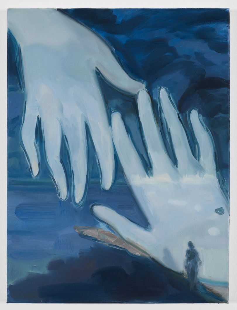 Kaye Donachie Loneliness of Night, 2018 oil on linen 60 x 45 cm © Kaye Donachie, courtesy Maureen Paley, London