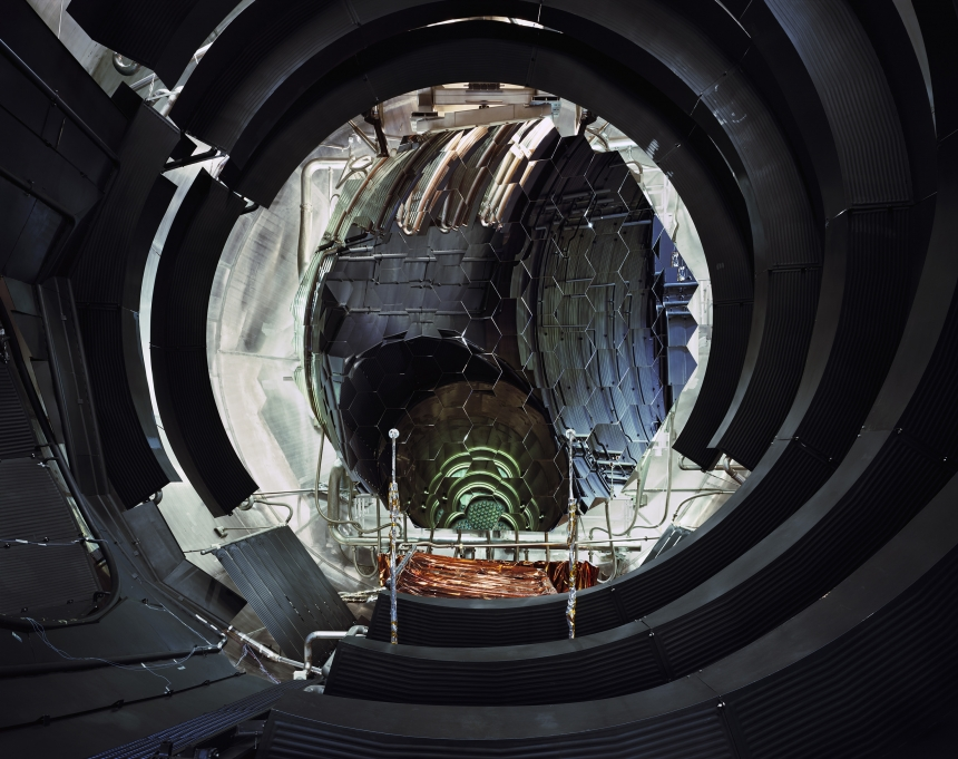 Interior of Large Space Simulator Vaccum Chamber (ESA-ESTEC, Noordwijk, The Netherlands) @ Edgar Martins