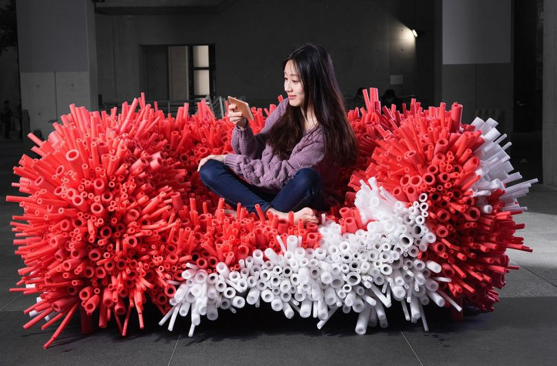 Previous winner: Anemone Sofa by Yi-Xuan Lee for Weimar Design Ltd – Gold A' Design Award