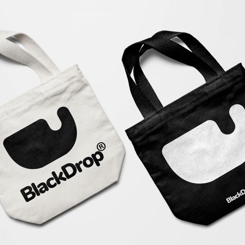 BlackDrop Brand Identity by Aleks Brand. Silver A' Design Award Winner for Graphics and Visual Communication Design Category in 2019
