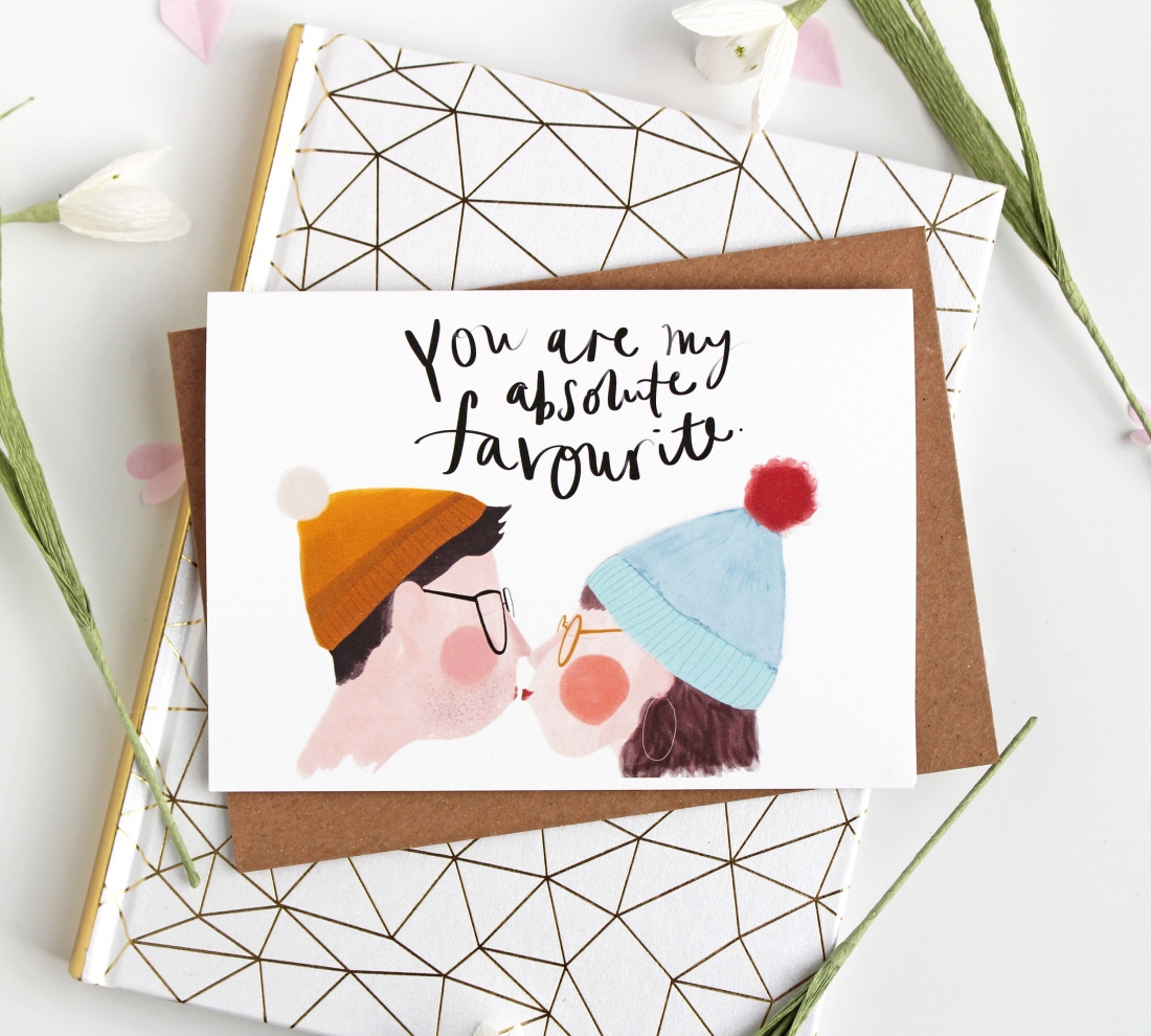 Priced at £2.60 | [Buy the card](https://www.etsy.com/uk/listing/573288644/you-are-my-favourite-valentines-card?ga_order=most_relevant&ga_search_type=all&ga_view_type=gallery&ga_search_query=valentines%20card&ref=sr_gallery-4-48)