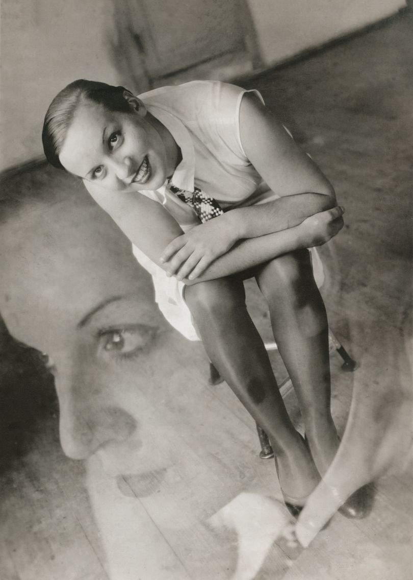 Ivana Tomljenović: Portrait of an unknown Bauhaus student (double exposure), 1930. © Kolekcija Marinko Sudac/Muzej Avangarde Zagreb