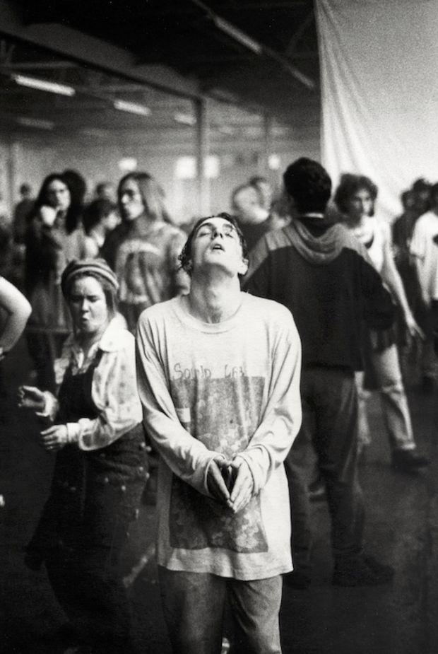 Derek Ridgers Spiral Tribe (1993) Photograph © Derek Ridgers, 1993 Image courtesy of Saatchi Gallery, London