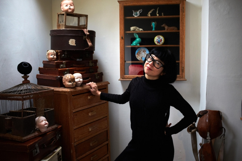 Stacy Makishi - performance artist