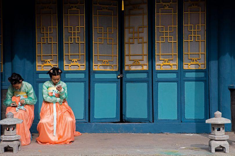 Between Takes, China Film Group State Productions Base, Beijing © Mark Parascandola