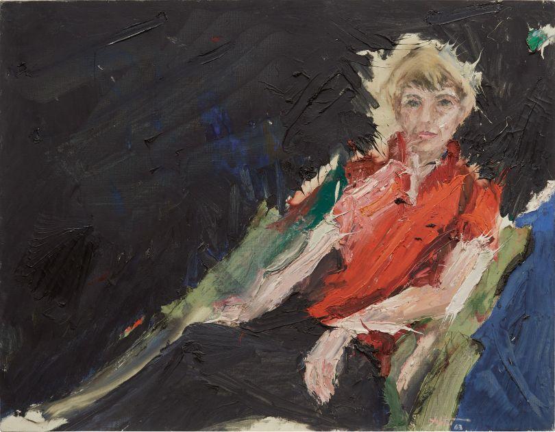 Manoucher Yektai, French Portrait, 1963