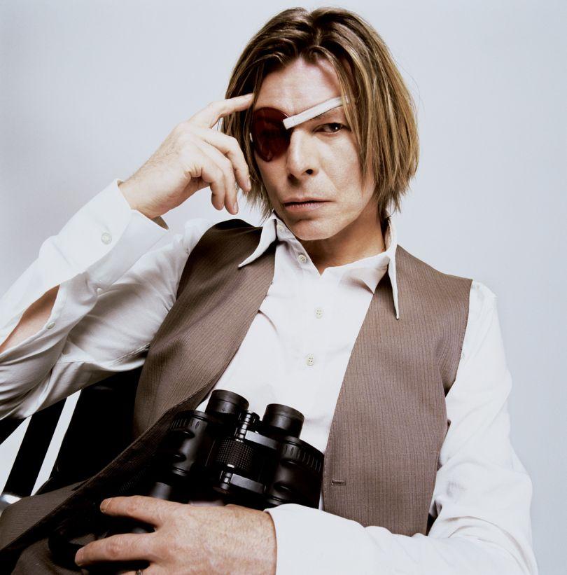 David Bowie: Milk Studios NYC 2002 © Mick Rock 2020