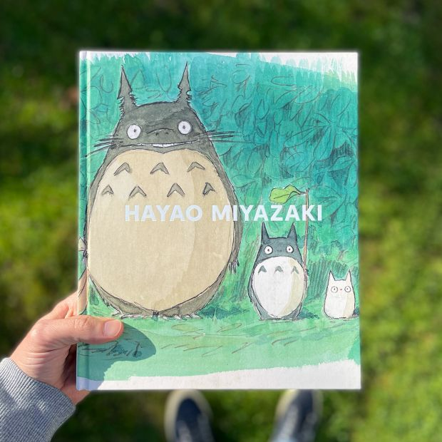 Hayao Miyazaki by Jessica Niebel. Image courtesy of Counterprint