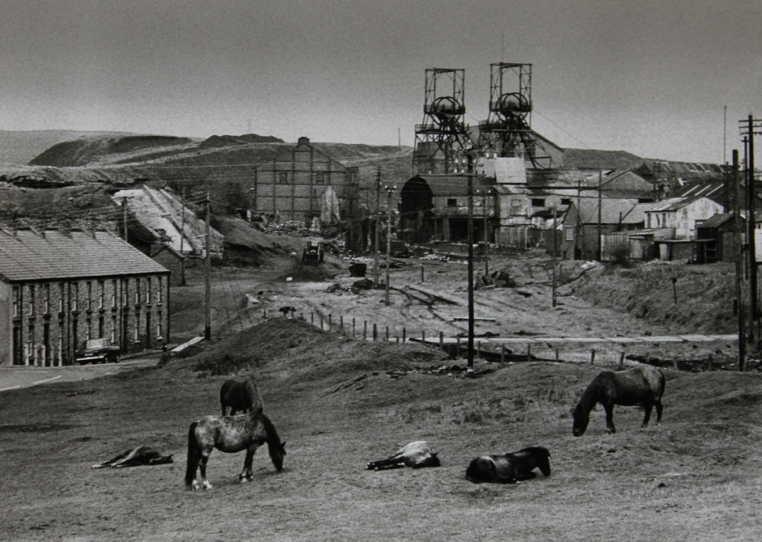 Colin Jones Seven Sisters Colliery, Dulais Valley, South Wales 1965. Courtesy the artist estate