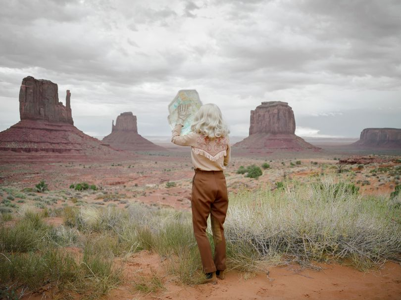 The Fictional Road Trip © Anja Niemi, The Little Black Gallery