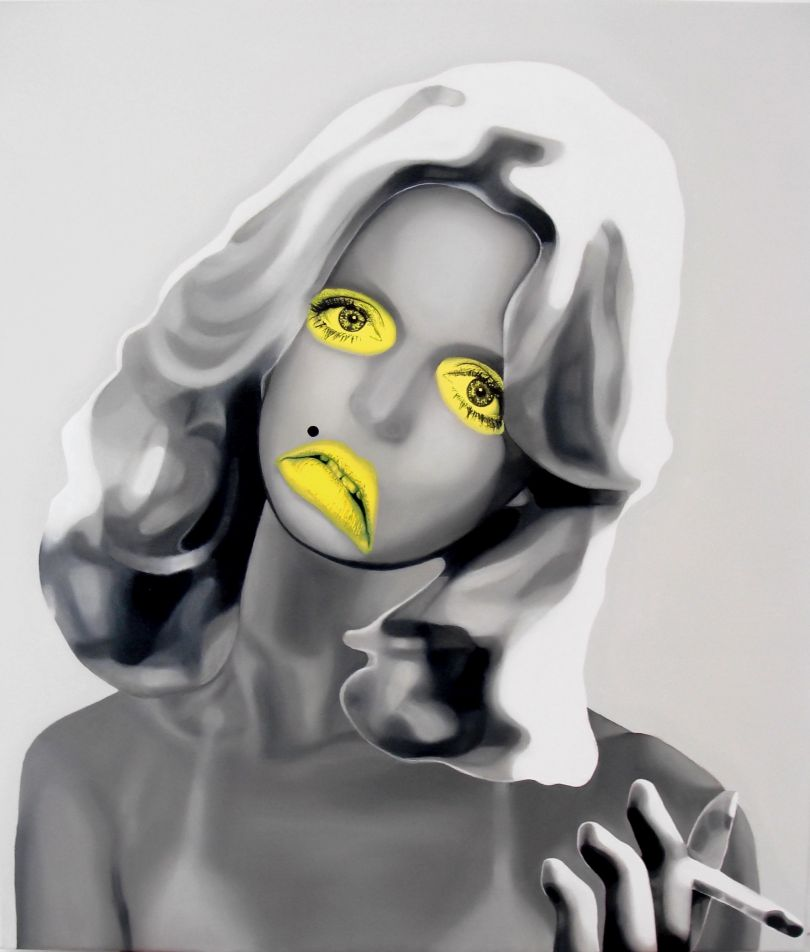 Goldie, Oil on canvas, 70x80cm © Teiji Hayama