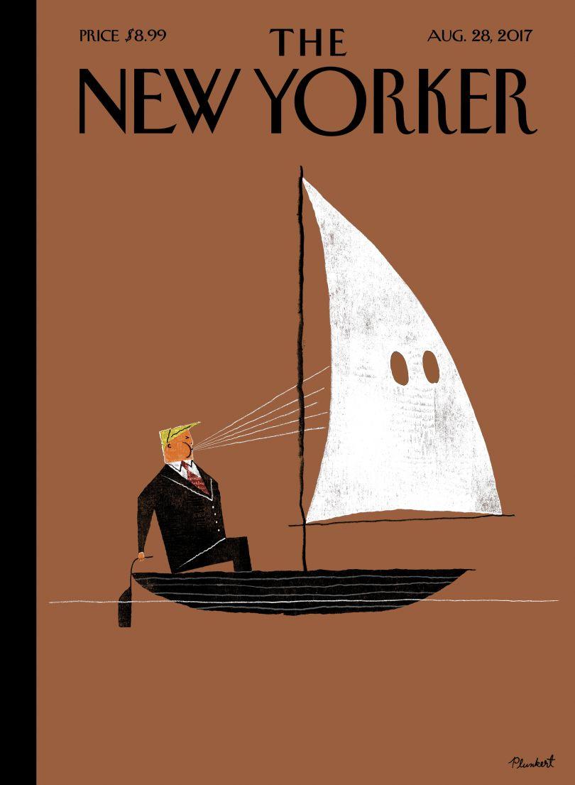 The New Yorker. Image credit: David Plunkert